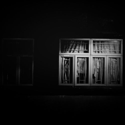 Architecture City HongKong Life Architecture Blackandwhite Dark Mobilephotography Night No People People Street Streetphotography Town Window