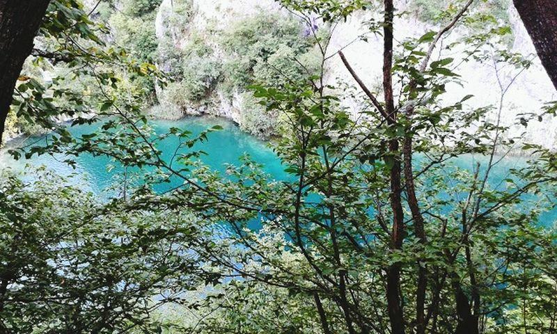 Blue Lake Croatia Nationalpark Splitvice 2014 Croatian