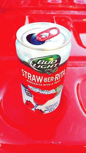 BudLightLime Strawberita Beer Drinkup