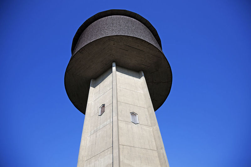 Water tower that is no longer used