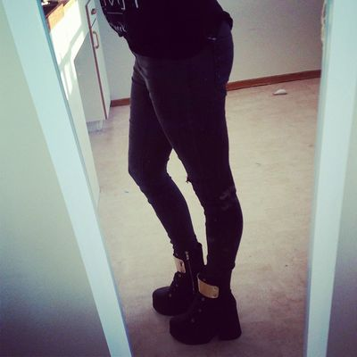 Vet inte riktigt om jag tycker om skorna eller inte...