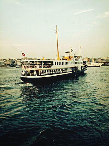 Sea Steamer Kadıköy Iskele