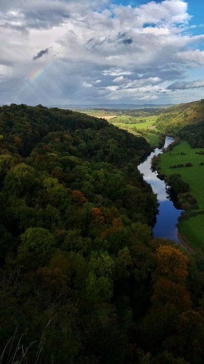 Here, Autumn has only just got started! Symonds Yat Gloucestershire Wye Valley England 🌹 Beautiful View River View Rainbow🌈 River Wye High Angle View Idyllic English Countryside Landscape_photography EyeEm Nature Lover Exceptional Photographs Eye4photography  Autumn🍁🍁🍁 Autumn Colours Showcase October Rainbows Rainbow EyeEm Masterclass Rainbow Sky Green Green Green!  Valley Dear @team just wondering why this, and so many other images were 'under review' for weeks then suddenly 'not selected for market' I'm asking for help to understand the process, and tips to increase sales please!