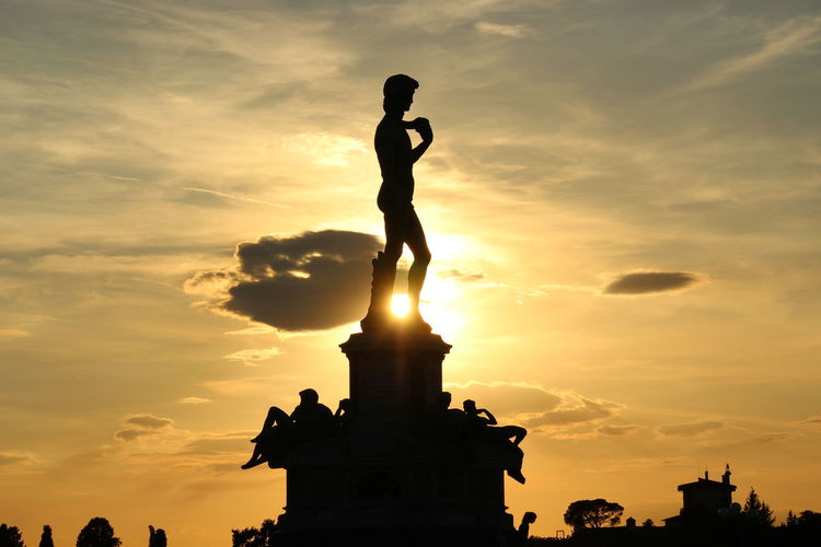 Michelangelo Statue Of David David Sunset Sky Skyporn Clouds And Sky Tadaa Community Light And Shadow Picoftheday Europa Politics And Government Full Length History Memorial My Best Travel Photo