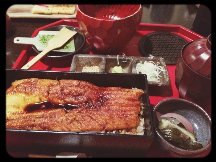 あなご箱めし 煮上げ Meeting Friends Enjoying A Meal Food 日本橋