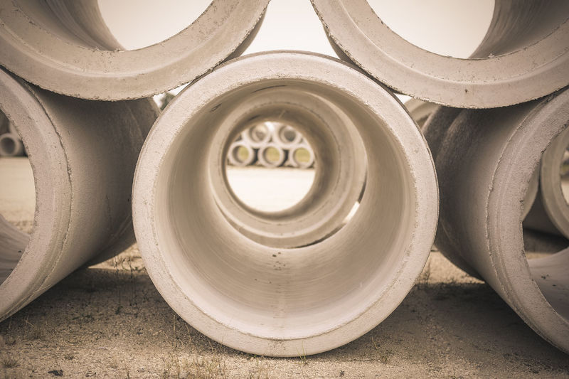 tube of concrete Backgrounds Circle Close-up Day Design Full Frame Geometric Shape No People Repetition Shape Spiral