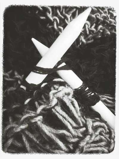 Relaxing Black & White Blackandwhite Knitting