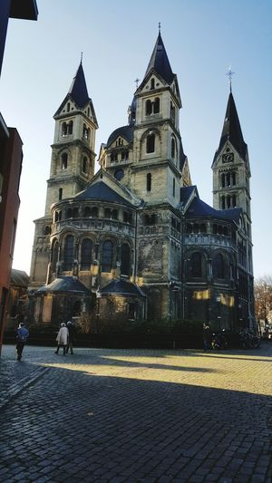 Church Christianity Netherlands Roermond Built Structure Travel Destinations Building Exterior Architecture Tower History City Large Group Of People Sky Outdoors Day People