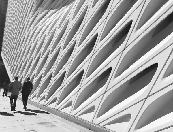 The Broad Museum The Broad Life City Scape Architecture Black And White Perspective Changes Everything Light And Shadow Street Photography Shootermag Lifestyles Favourite Places EyeEm Best Shots A Week On Eyeem Eyeem Collection Bnw_collection