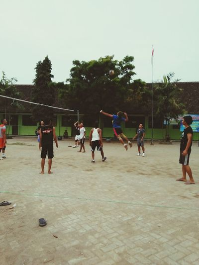 volleyball, smash Volleyball Volleyball - Sport Volleyball❤ INDONESIA Surabaya Surabaya City Surabaya Eyeem Indonesia Indonesia_photography Surabaya In The Morning Java Java Indonesia East Java-Indonesia Indonesia Photography  EyeEmNewHere Coordination Competition Competitive Sport Sports Team Full Length Sport Men Motion Goal Post Basketball Player Slam Dunk Basketball Team Push-ups