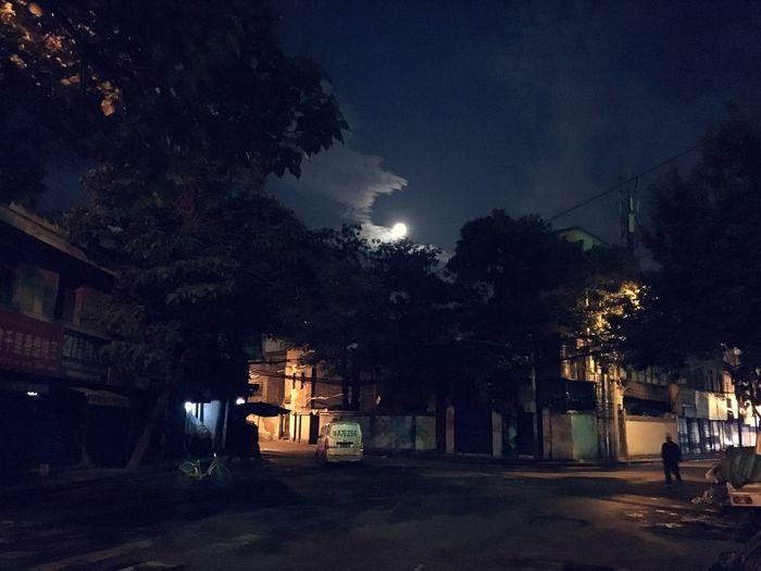 Full moon dawn First Eyeem Photo