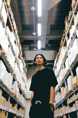 😎 Shelf Mid Adult Warehouse Indoors  One Person One Woman Only Mid Adult Women Only Women Low Angle View Distribution Warehouse Storage Room Adults Only Real People Adult Working Freight Transportation Women Cardboard Box Occupation People Only Men EyeEm Taiwan Working Art