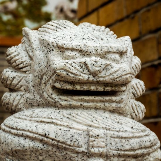 Statue Close-up Sculpture Architecture Outdoors HongKong Traditional Lion Sculpture