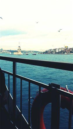 Turkish photo in İstanbul. - kız kulesi- On A Stroll