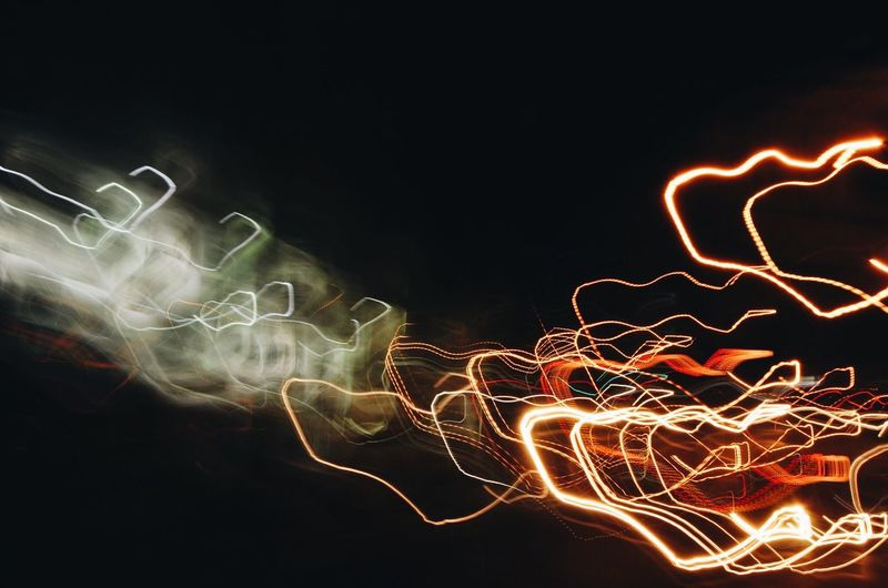Light Paintings At Night