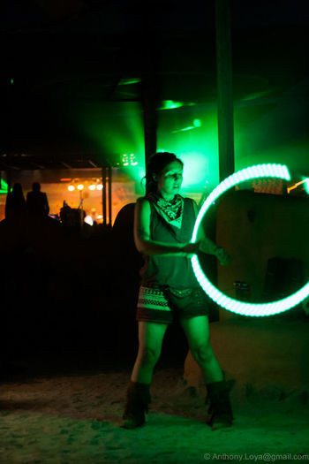 Night Green Color One Person Adult Arts Culture And Entertainment Performance Nightlife Hooping  One Young Woman Only Joshuatreemusicfestival Summer Outdoors Flowartgirl Girlsports Girl Flowart Flowarts Neon Lights Lightuphoop Night Photography Hoop Adult