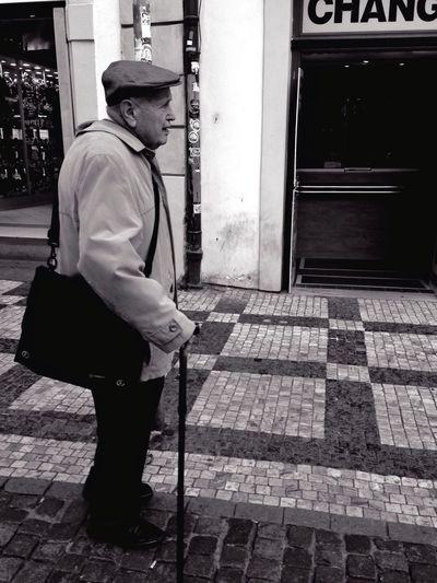 Mission Prague EyeEm In Prague Streetphotography Blackandwhite