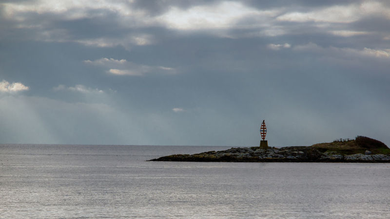 Dramatic Sky Ocean View Shadow And Light Island Light And Shadow Nautical Theme Water
