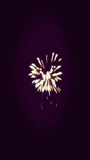 Fireworks belated Bonfire Night