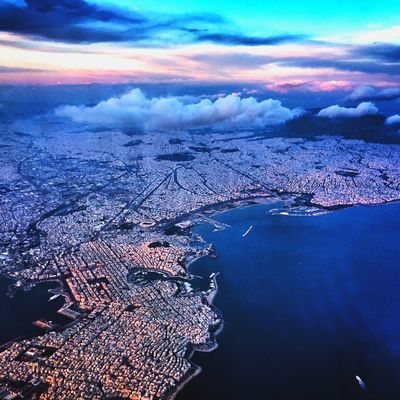 My Country In A Photo Athens from above ✈️