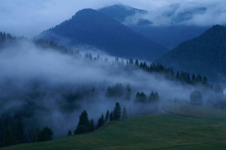 Fog Sauris Mountains Clouds
