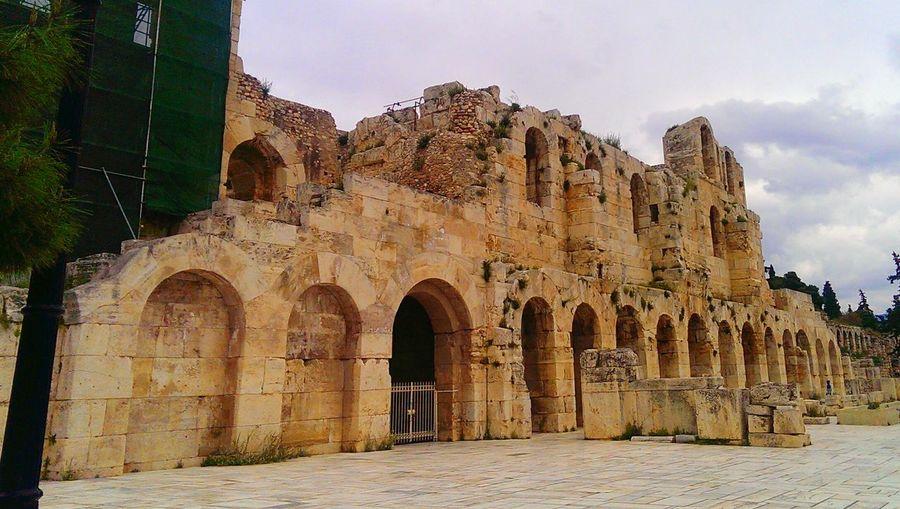 Athens, Greece Traveling Tour Acropolis