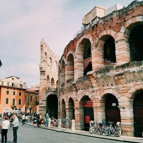 Coliseu de Verona Vscocam Coliseu Italia Italy europe veneto verona architecture building picoftheday