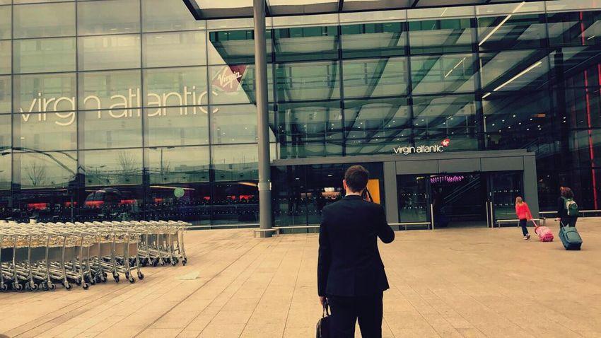Heathrow Airport 🛫 Architecture City London Virgin Atlantic Flight