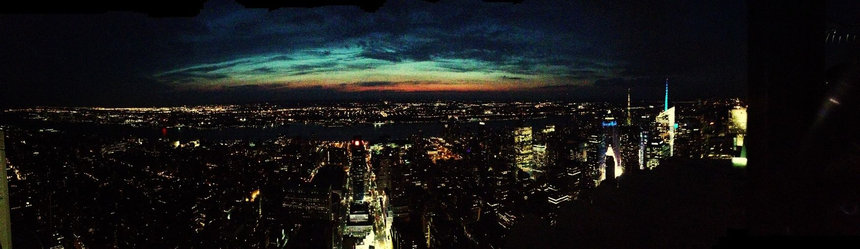 New York Empire State Building Sky City Nightphotography