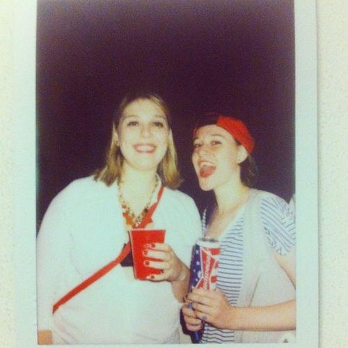 Redwhiteandblue Americancheese Cheesin Happyfourthofjuly july4th independenceday brooklyn legit girlsandsnapbacks tattedchicks murrica america nyc iamevenwearingstripes wrongcolorsthough budweiser beer friends