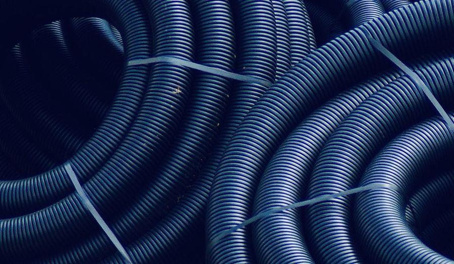 Full frame shot of black pipes