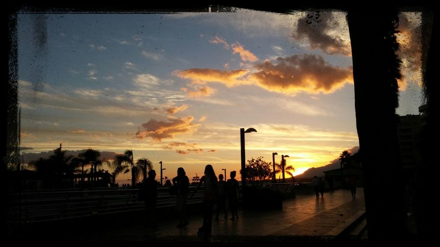 This is a common sunset in Marbella Taking Photos Enjoying Life First Eyeem Photo