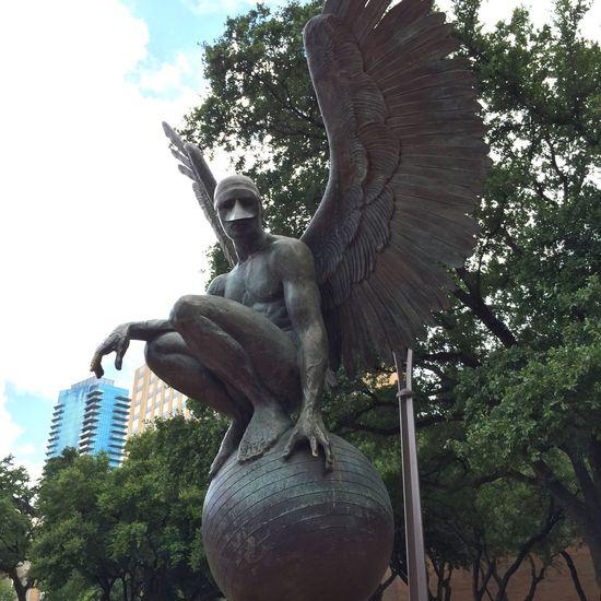 Angel Globe Angel Masked Watcher Heaven