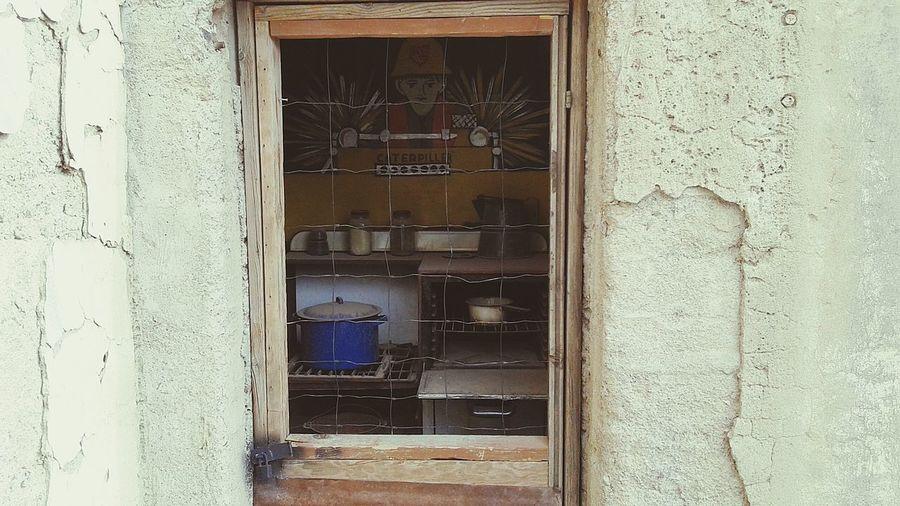 Miners Kitchen Abandoned Mines Ghost Town Arizona Desert