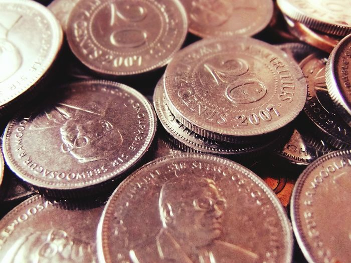Coins Old Coins Mauritius Cashmoney  20cents 2007 Davidvincentvulcain Eyeem Photography EyeEm Gallery Oldcoins