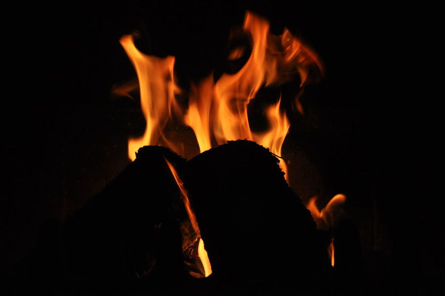 Fireplace Burn Burning Burning Wood Fire Fireplace Flame Glowing Heat Hot Stove Warm Warmth Wood Burning
