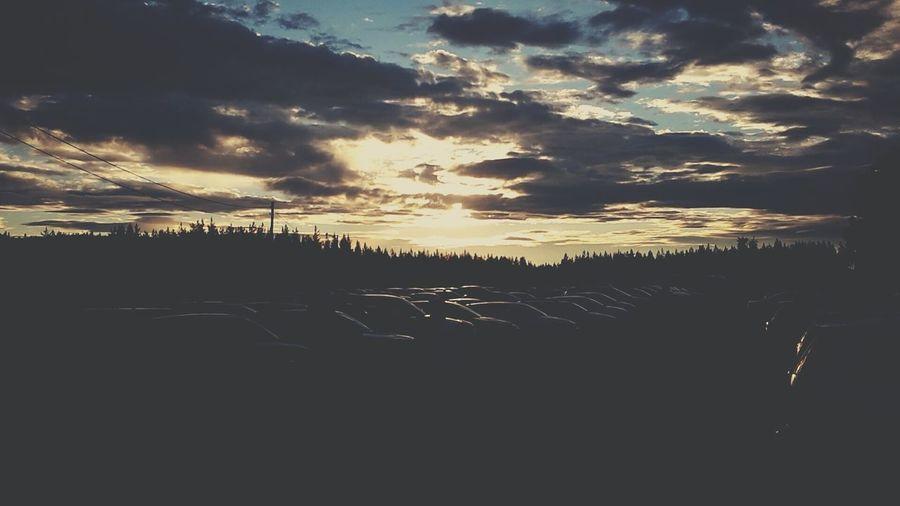 Clouds Summer Night ☁♡