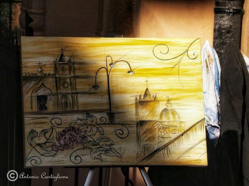 Pittura Pittura Quadri Quadro Tela Close-up Street Art