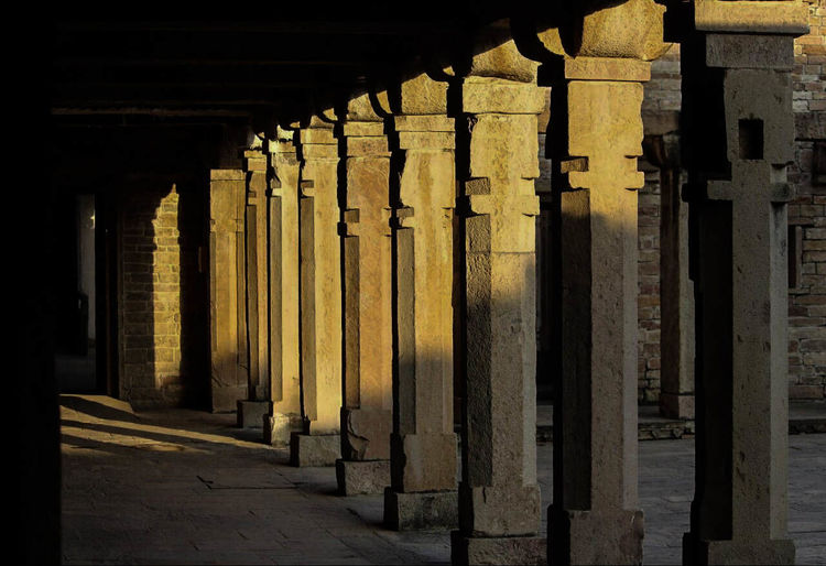 #History #architecture #sunset Quiet Architectural Column Built Structure Day In A Row Underneath First Eyeem Photo