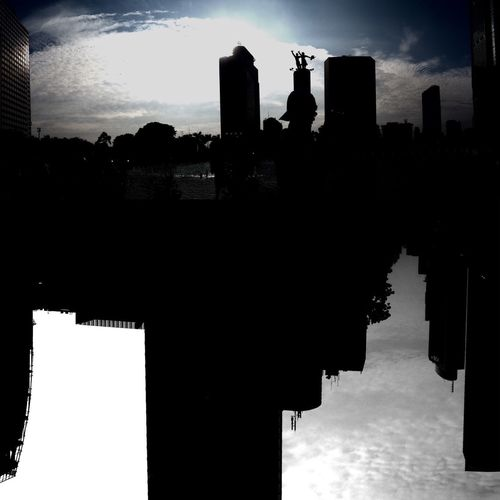 My Favorite Photo Jakarta Future Sillhouette Bundaran HI Jakarta INDONESIA Taking Photos With Camera Phone IPhoneography created by : dede haryadi