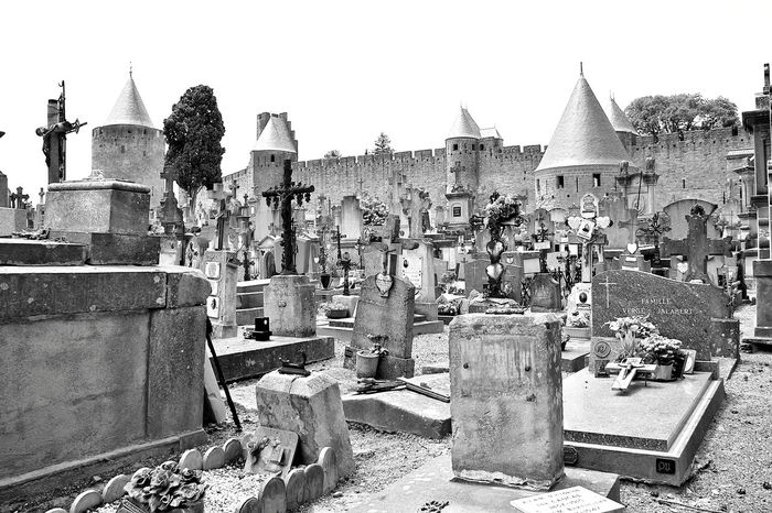 In days of old when knights were bold....... Carcassone, France Carcassonne Cemetery Architecture Building Exterior Built Structure Day History Medieval Medieval Architecture Medieval Castle Medieval City Medieval Town No People Outdoors Sky