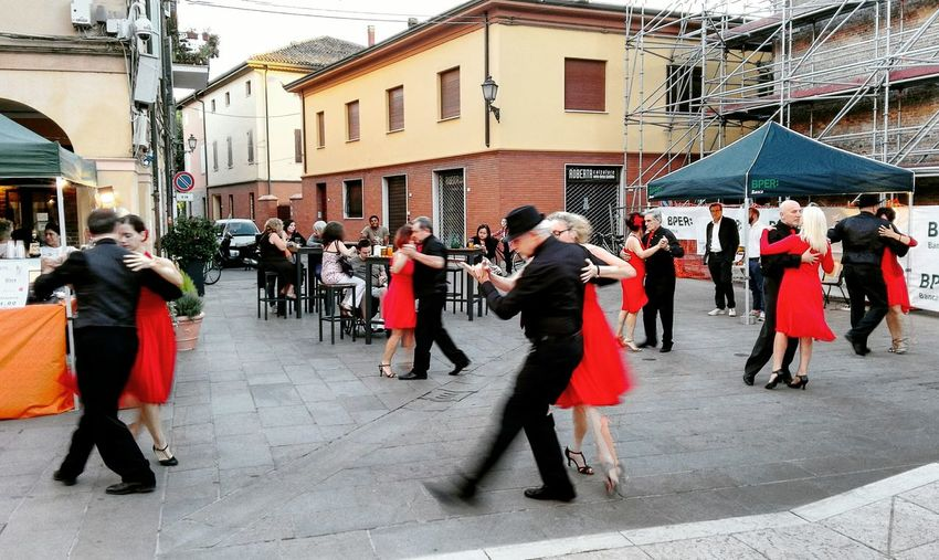 Tango Ballerini Dancers Music Festival Taking Photos Fotografiadistrada Street Photography Enjoying Life City Life
