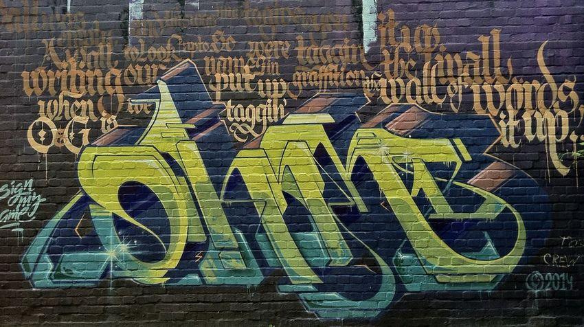 Mr. Ohm One Graffiti Hamburg Graffiti Art Graffitiporn Graffiti Wall Graffitiart Awesome Font Tagging Jopesfotos - Urban