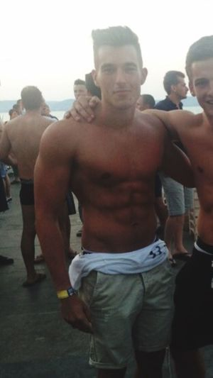 Throwback That's Me Sixpack Cute Beautiful Snapchat Muscles Fitness Hot Guy