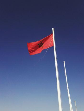 Flag Sky Marrocco