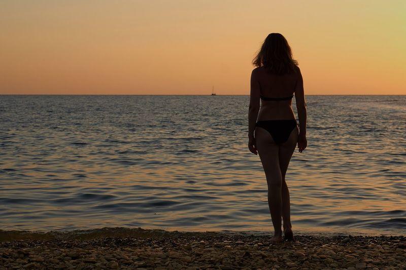 Sunset Sea Rear