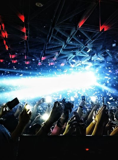 What Does Music Look Like To You? Electronic Music Shots
