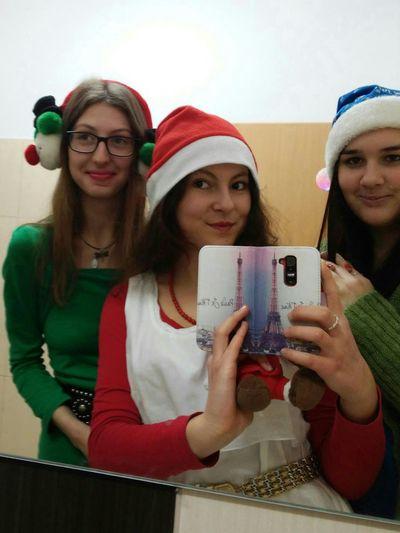 Santa Claus Santaclause Santa Clause Red White Polishgirls Friends ❤ Friends School School Time