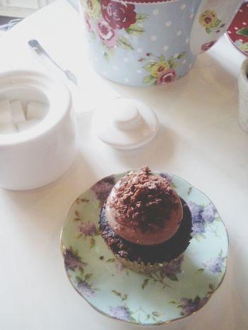 Cupcake Tea Cute Cake