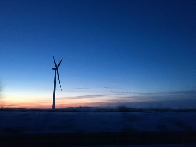 Wind Turbine Wind Power Environmental Conservation Blue Windmill Sunset Alternative Energy Renewable Energy Outdoors Nature No People Tranquility Sky Beauty In Nature Scenics Rural Scene Day